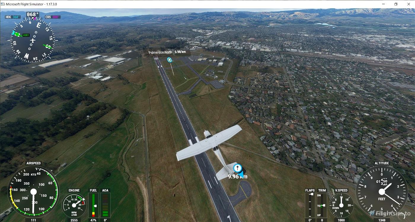NZPM Palmerston North, NZXA(fictional) Rongotea, NZFI Fielding