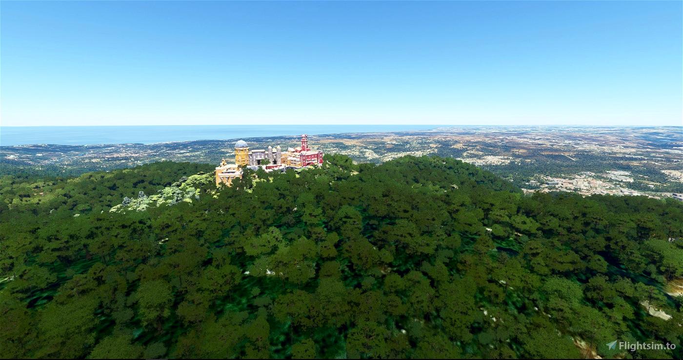 Pena Palace (Palácio da Pena) Microsoft Flight Simulator
