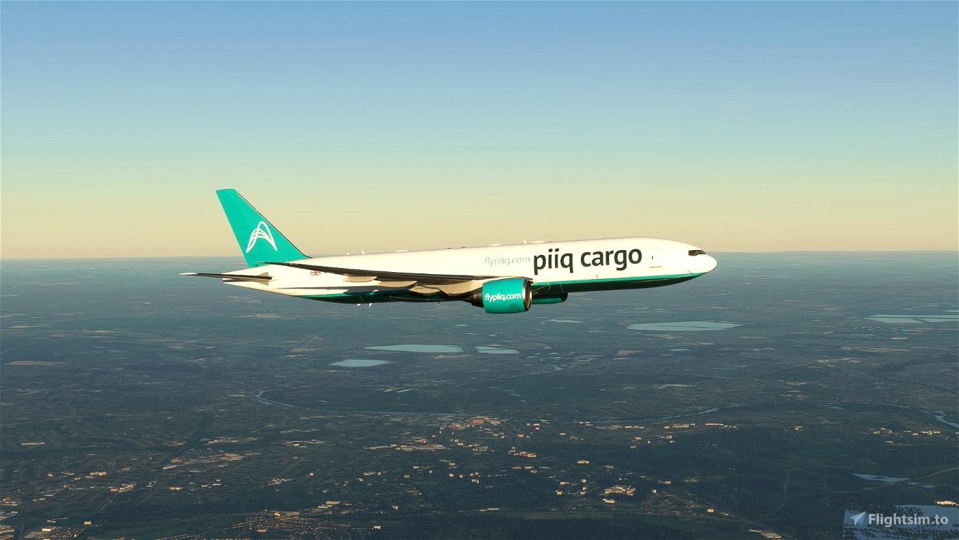 PIIQ CARGO CS Boeing 777F - 8K