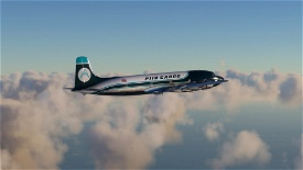PIIQ CARGO DC6-A Microsoft Flight Simulator