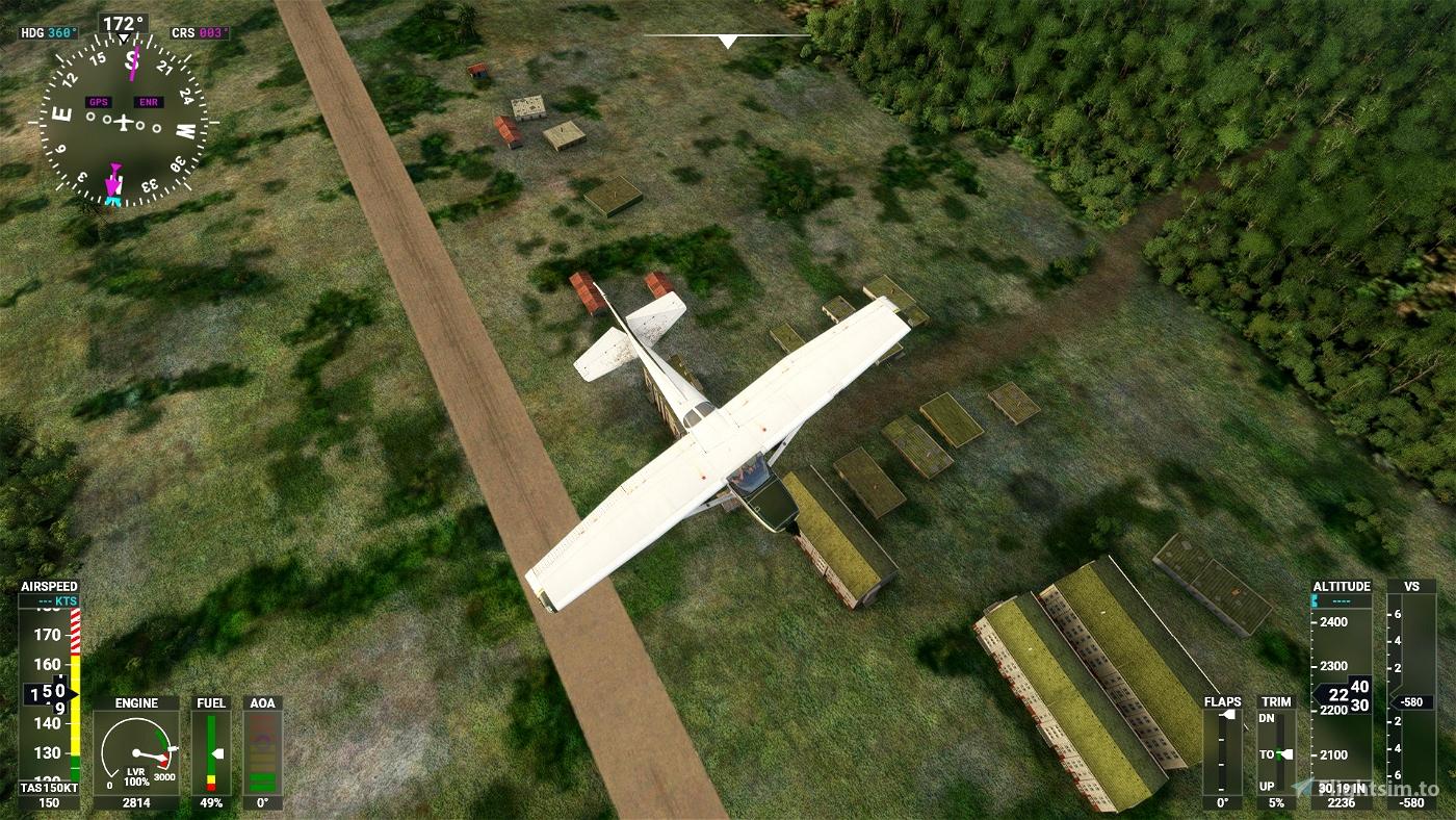 Pista Taisha - SETH Microsoft Flight Simulator