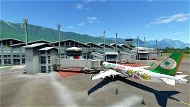 RCYU Hualien Airport, Taiwan Microsoft Flight Simulator