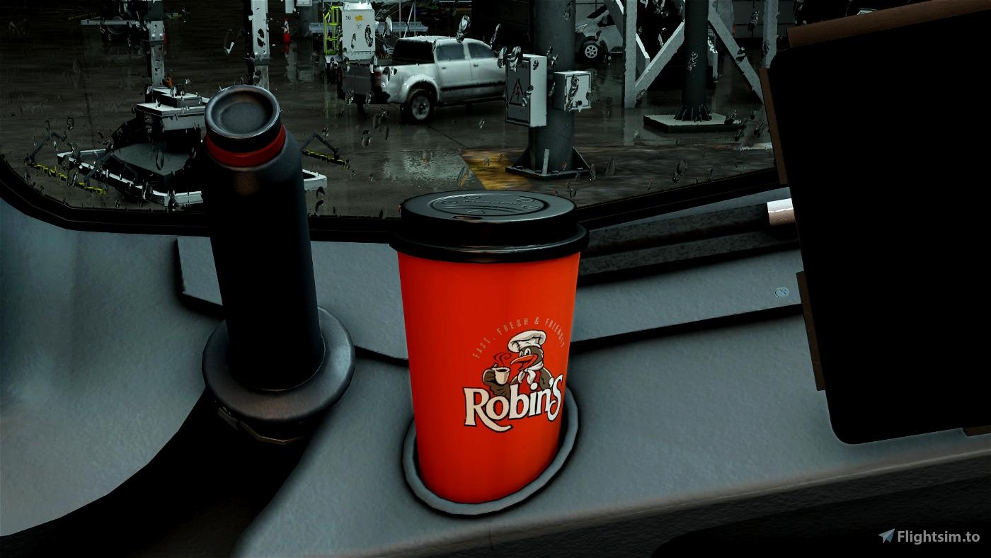 Robin's Donuts Coffee Cup