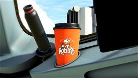 Robin's Donuts Coffee Cup Microsoft Flight Simulator
