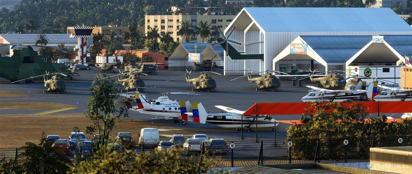 SVFM - Base Aérea Generalísimo Francisco de Miranda (La Carlota) Microsoft Flight Simulator