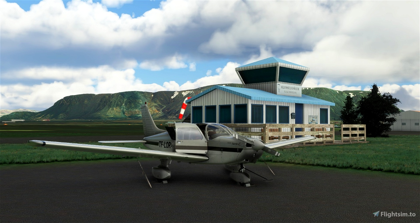 BISF Selfoss Iceland Scenery Microsoft Flight Simulator