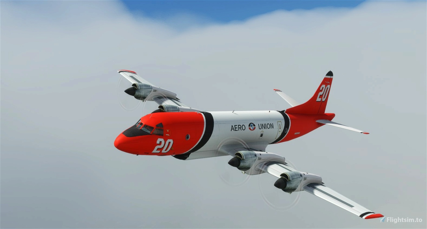 Lockheed P-3A Fire Fighter