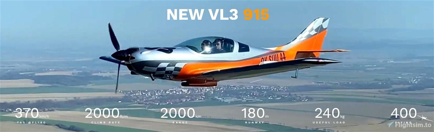 VL-3 915 Rotax (Improvement Mod) Microsoft Flight Simulator