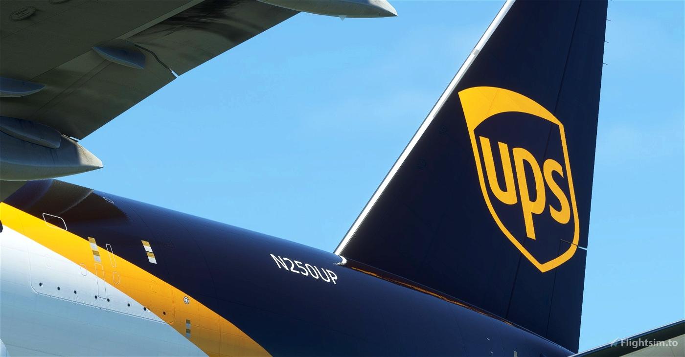 UPS / United Parcel Service CaptainSim 777-200F