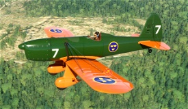 A1R Ryan Swedish Air Force Trainer (fictional) Microsoft Flight Simulator