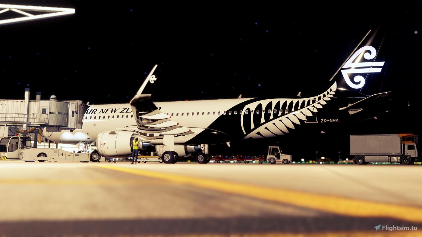 [A32NX] Air New Zealand A320 neo ZK-NHA 8K