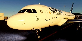 [A32NX] Airbus A320neo Lufthansa D-AINT | as 10k resolution Microsoft Flight Simulator