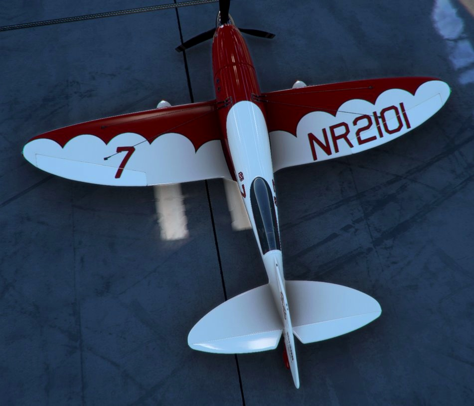 AIRPAC1 GeeBee-R3 Livery Pack 1