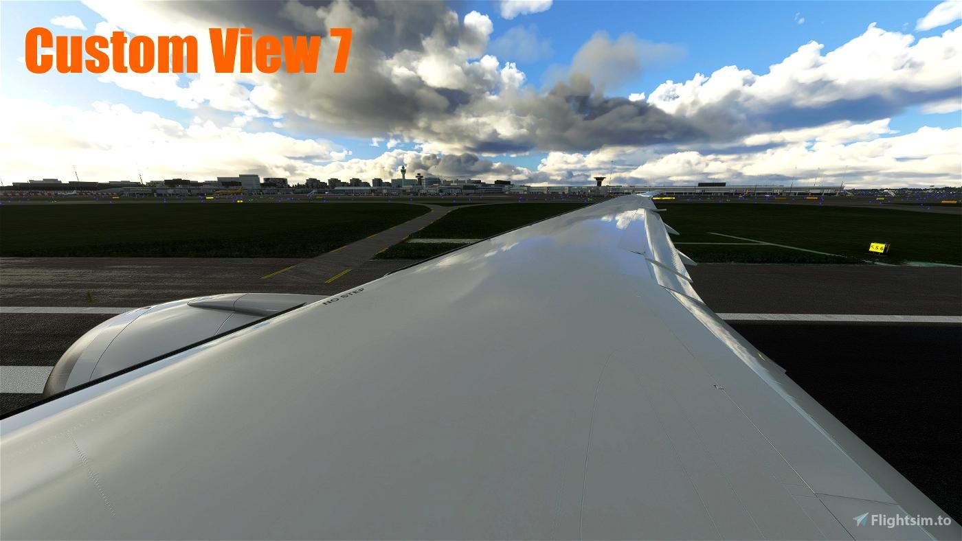 Asobo B787-10 - Custom Views