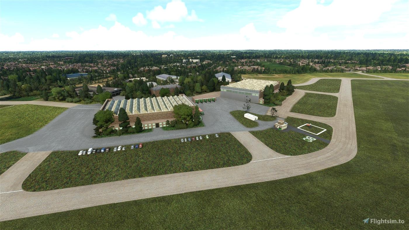 Bicester Airfield - EGDD Microsoft Flight Simulator