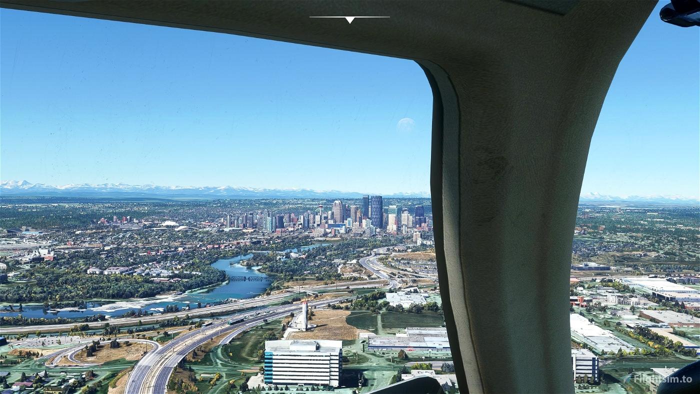 Calgary Zoo Photogrammetry Microsoft Flight Simulator