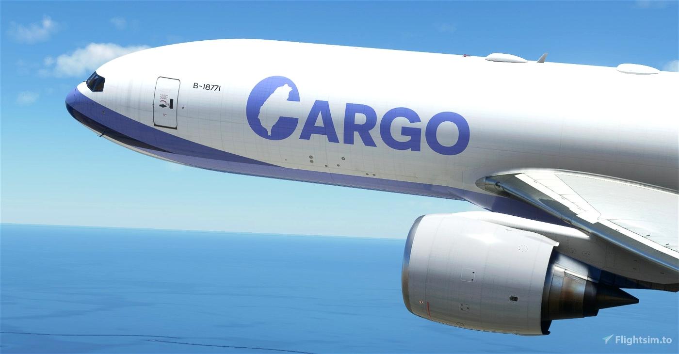 China Airlines Cargo CaptainSim 777-200F