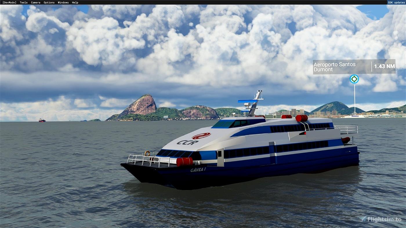 Controllable Ships Fleet Microsoft Flight Simulator
