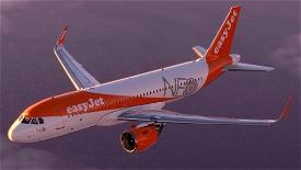 [A32NX] Easyjet A320 neo G-UZHA 8K Microsoft Flight Simulator