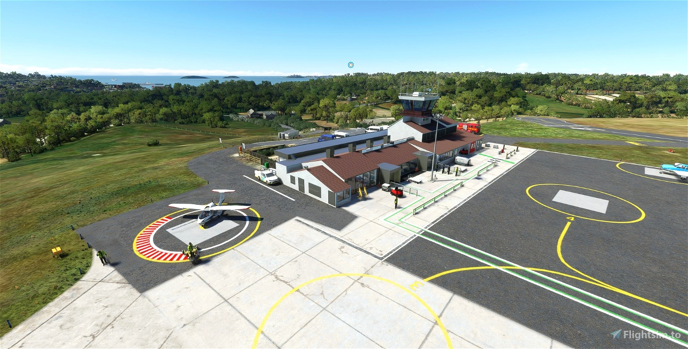EGHE - St Mary's Airport & Isles of Scilly Scenery UK - Upgrade Microsoft Flight Simulator