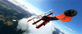 Fokker DR.1 Triplane Microsoft Flight Simulator