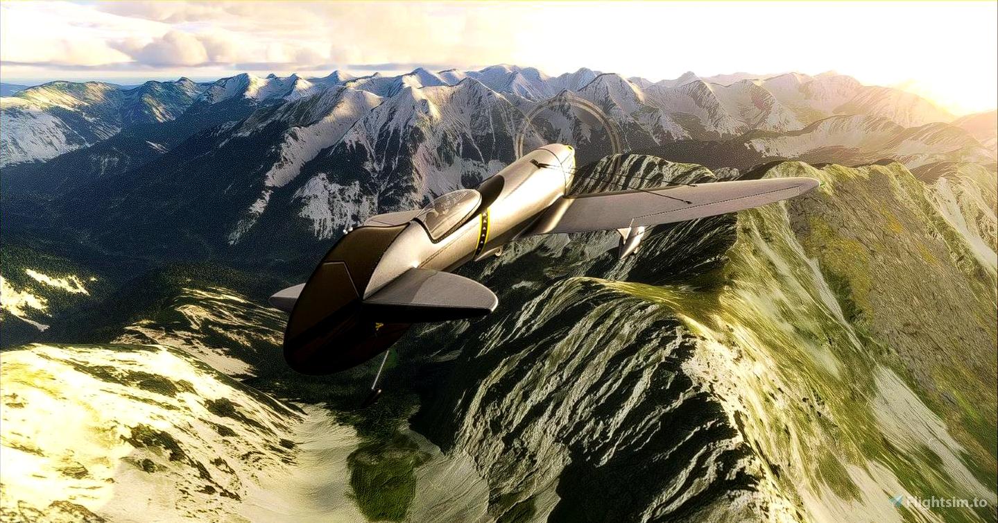 Gee Bee R3 Special Microsoft Flight Simulator