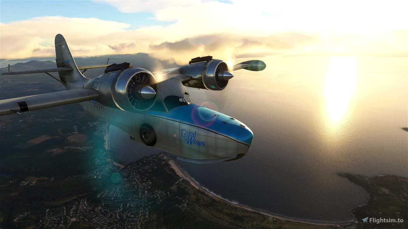 Grumman Goose G21A Redux II Microsoft Flight Simulator