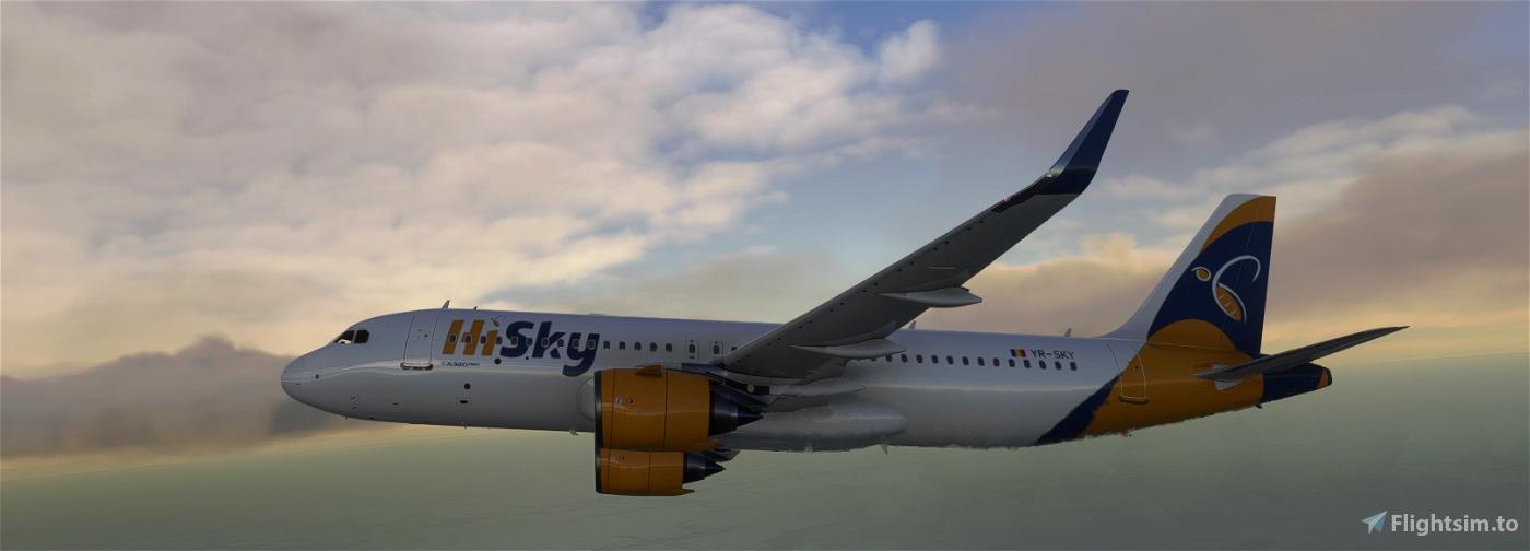 [A32NX] HI SKY YR-SKY 8K