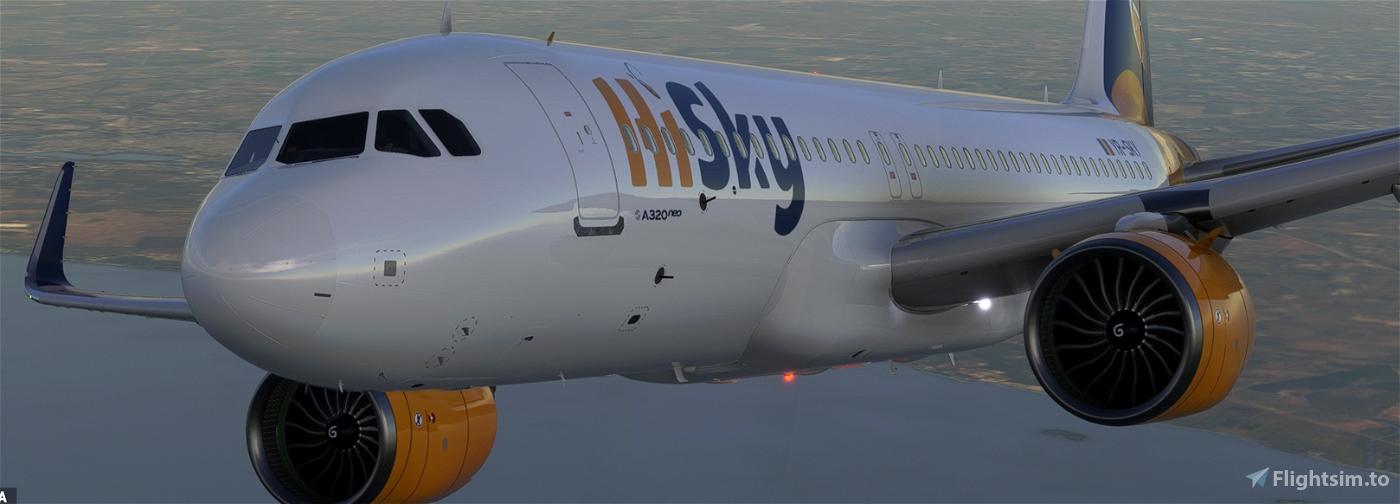 [A32NX] HI SKY YR-SKY 8K Microsoft Flight Simulator