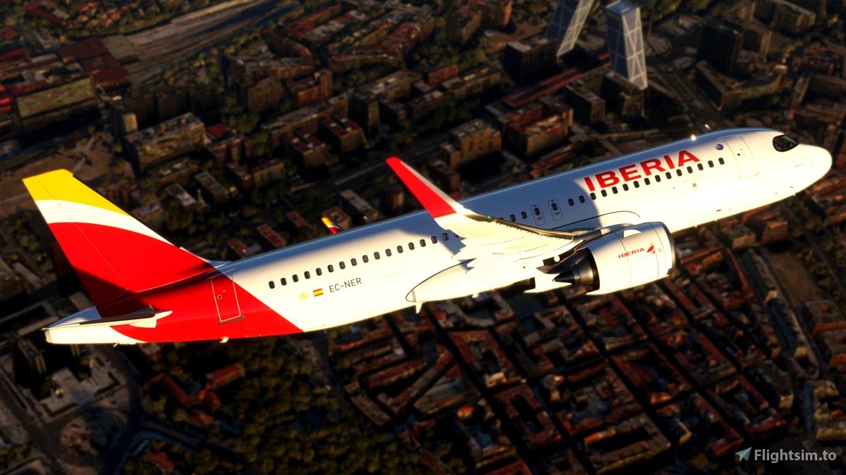 [A32NX] Iberia A320 neo EC-NER 8K