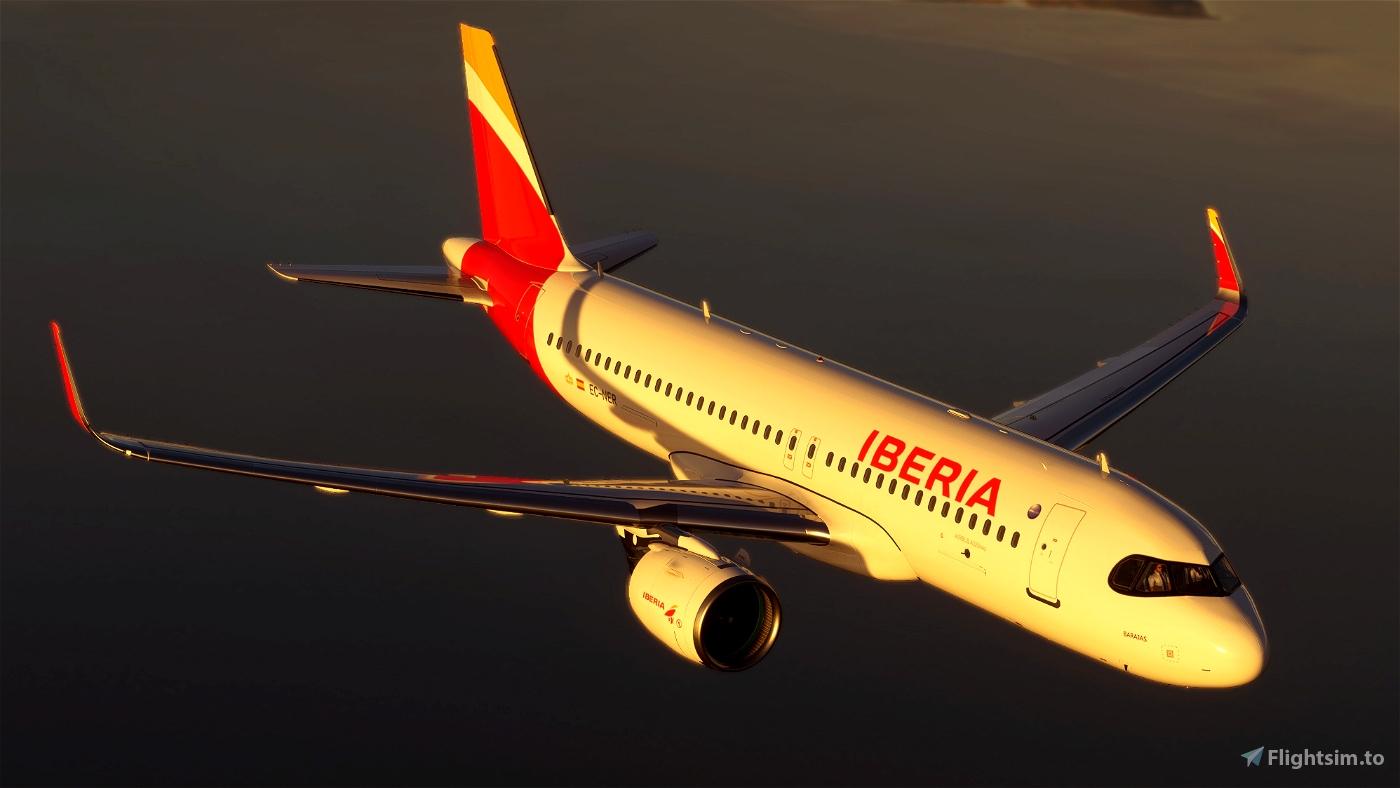 [A32NX] Iberia A320 neo EC-NER 8K Microsoft Flight Simulator