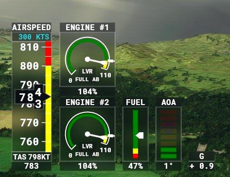 Improved Flightmodel for DC Designs F-15