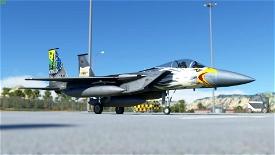 Improved Flightmodel for DC Designs F-15 Microsoft Flight Simulator