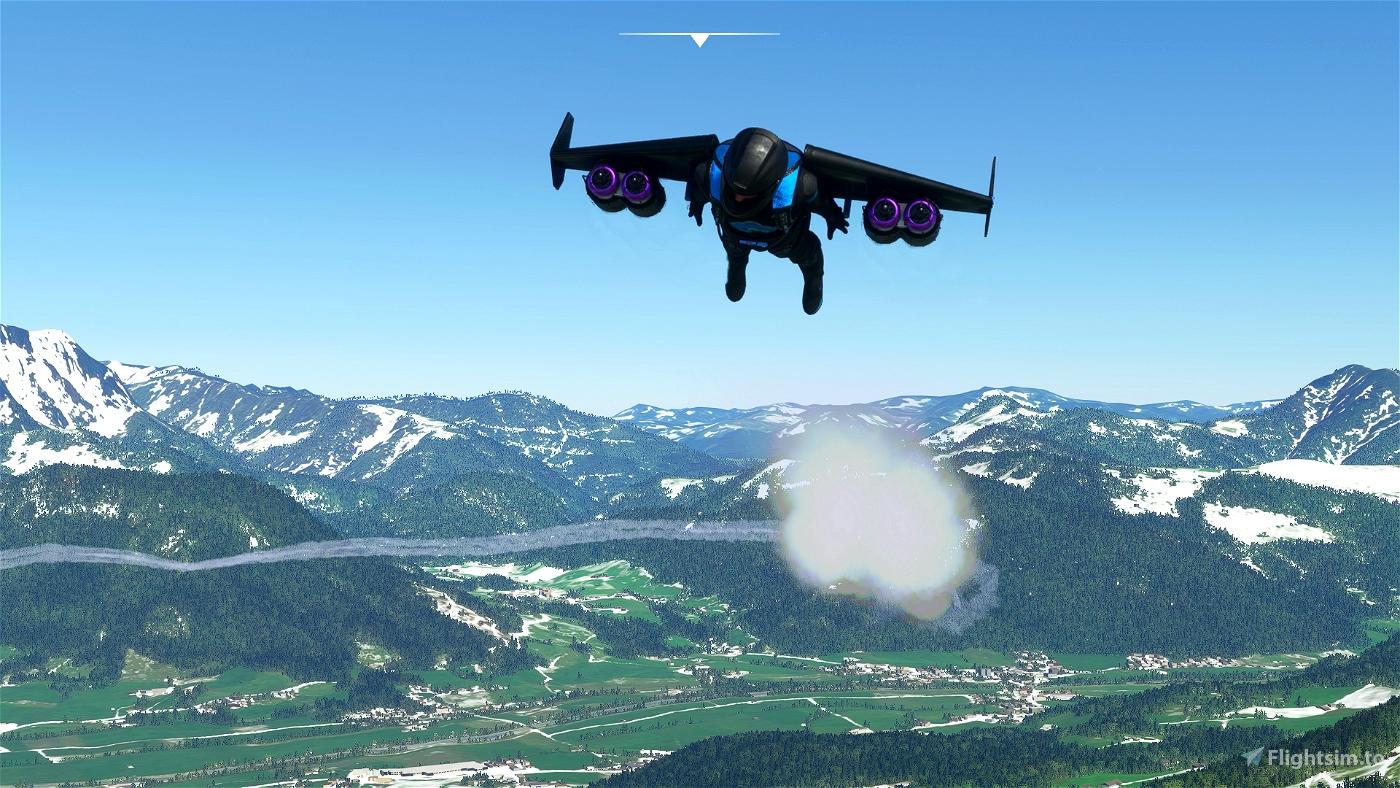 "Jetpack JW1 ""SkyTraveler"""