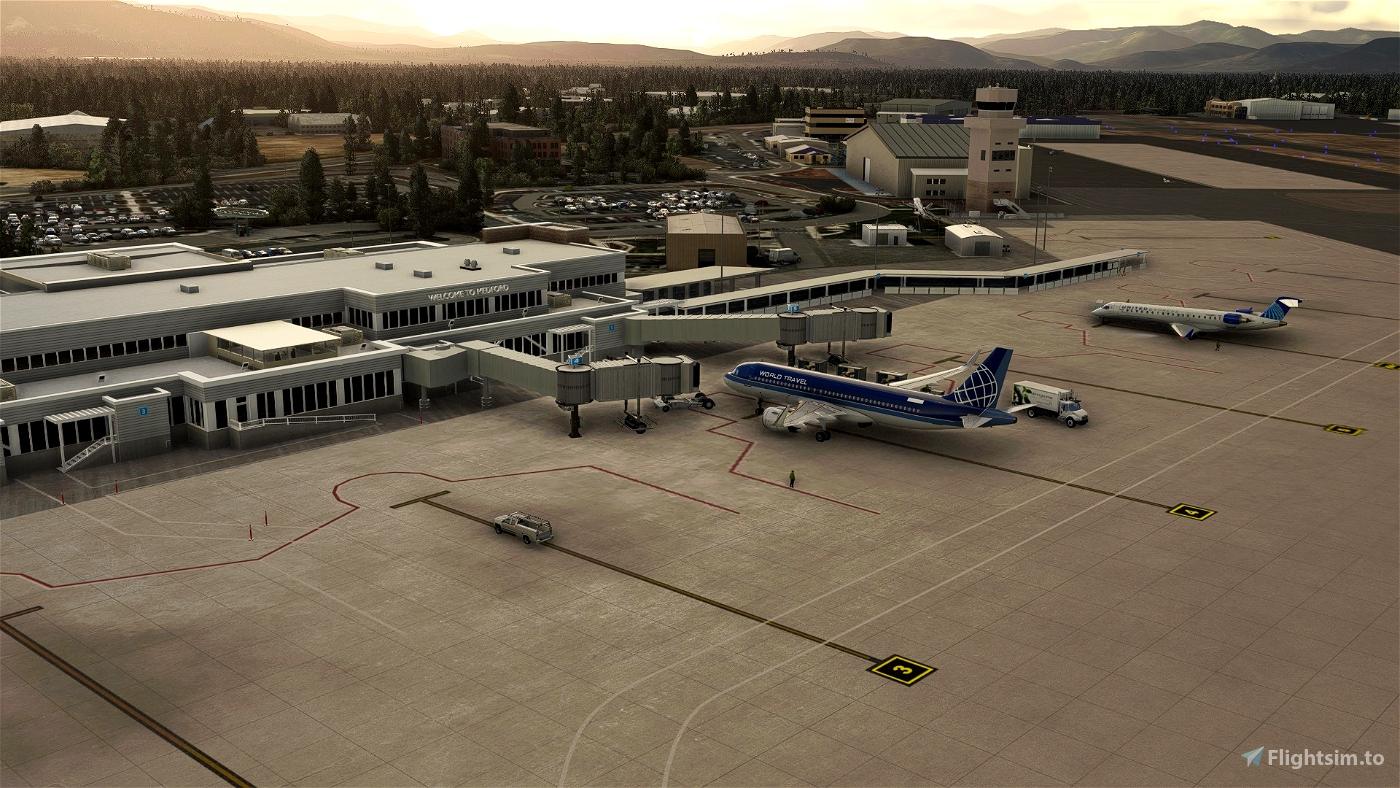 KMFR - Rogue Valley - Medford Airport Microsoft Flight Simulator