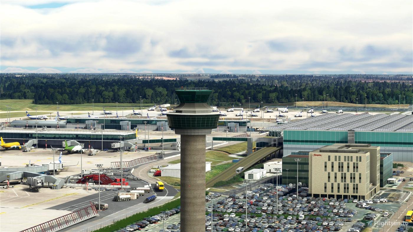 London Stansted Airport (EGSS) Microsoft Flight Simulator