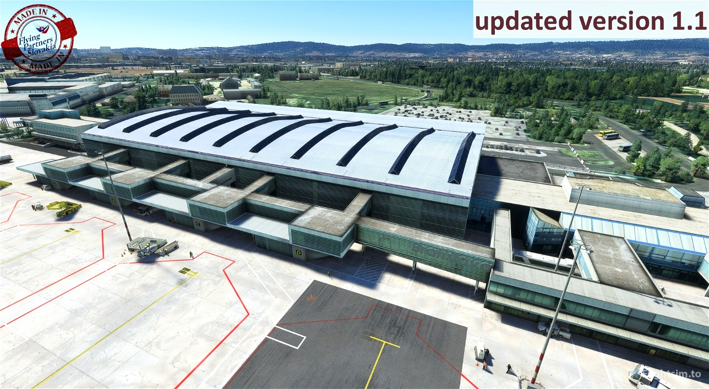 LZIB_M.R.Stefanik airport_MSFS_v1.1
