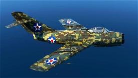 MIG-15 Camo Microsoft Flight Simulator