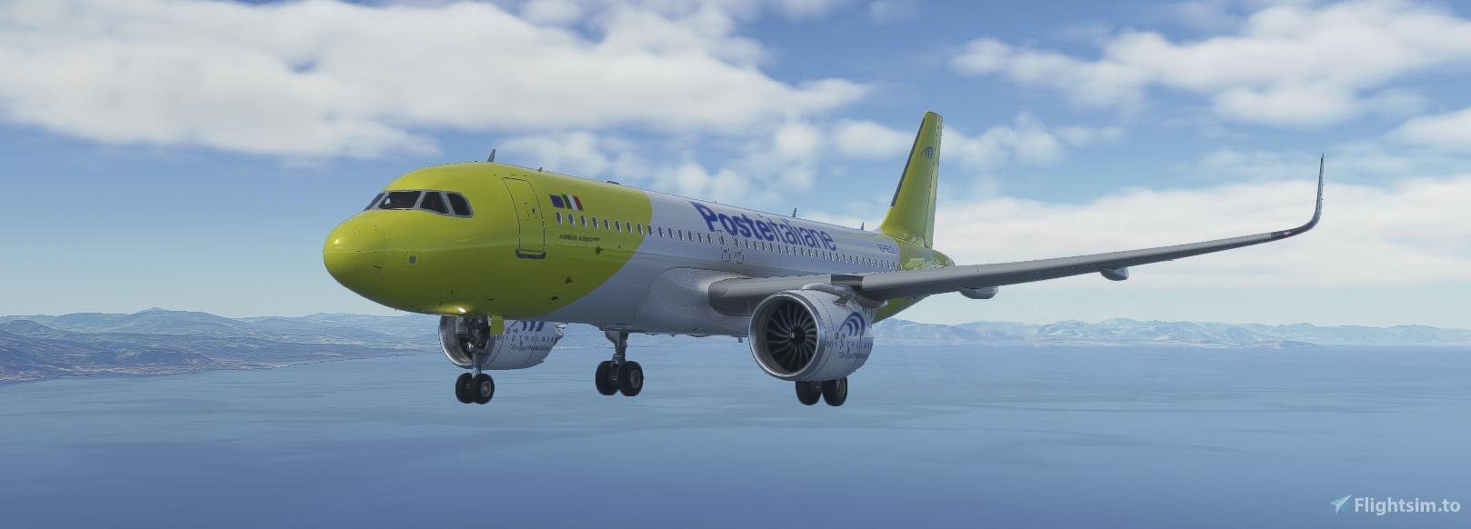 Airbus A320Neo Mistral Air EI-ELZ – Livrea A32NX – 8K