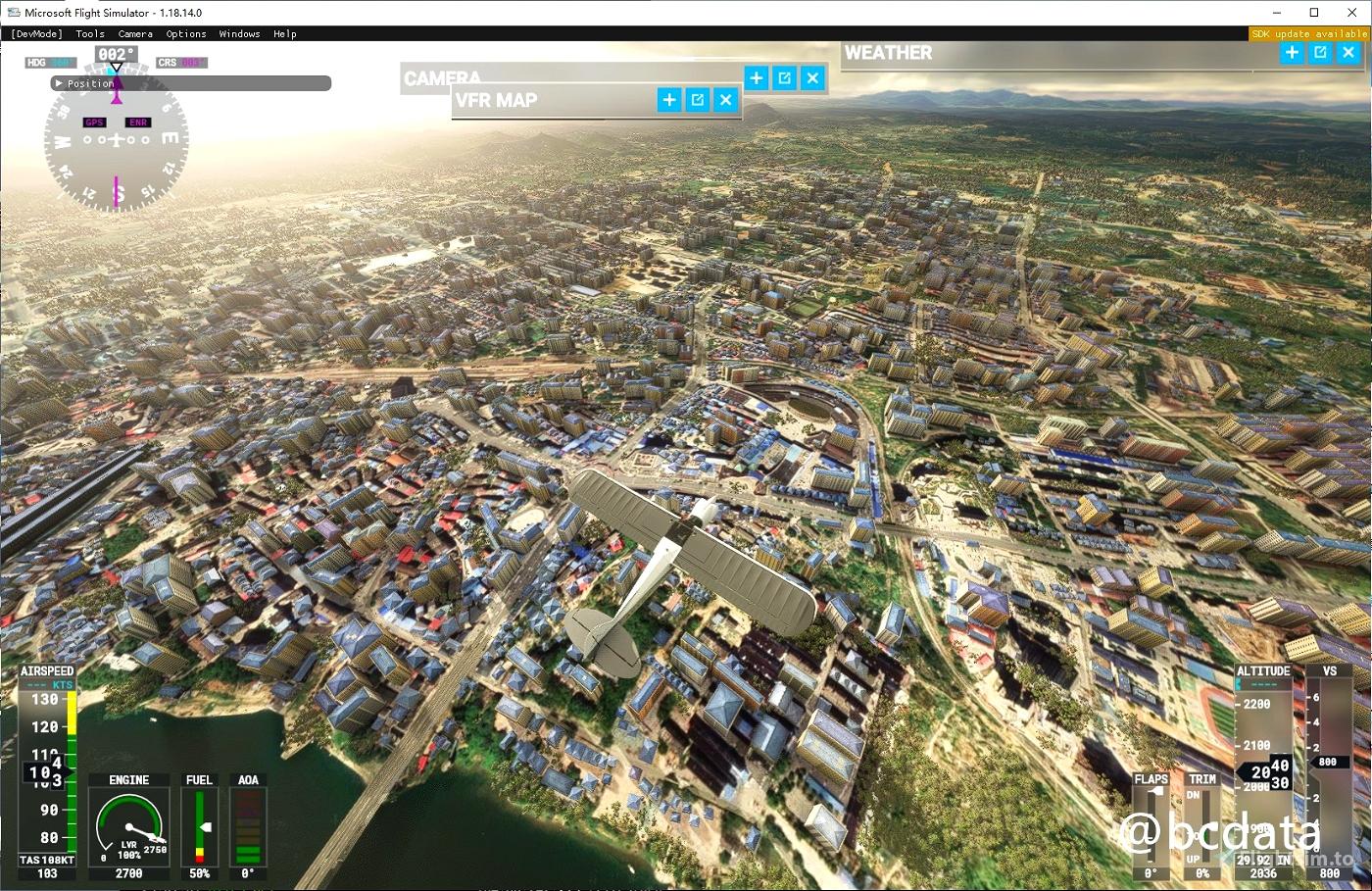 MSFS 2020 Google Map replacement Microsoft Flight Simulator