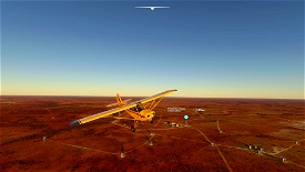 Murchison Radio Observatory (Australian SKA pathfinder) Microsoft Flight Simulator