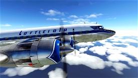 PMDG DC-6B - Loftleiðir Icelandic Microsoft Flight Simulator