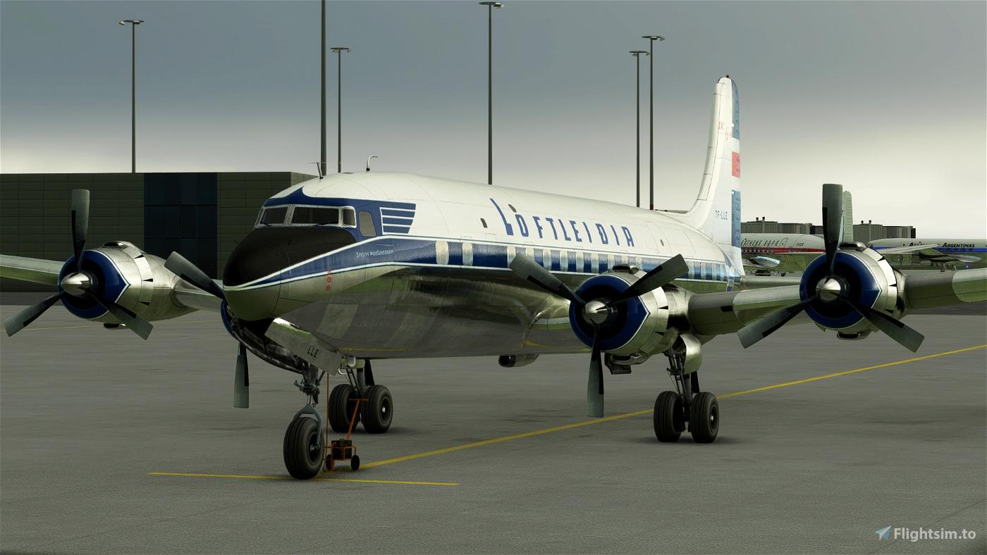PMDG DC-6B - Loftleiðir Icelandic