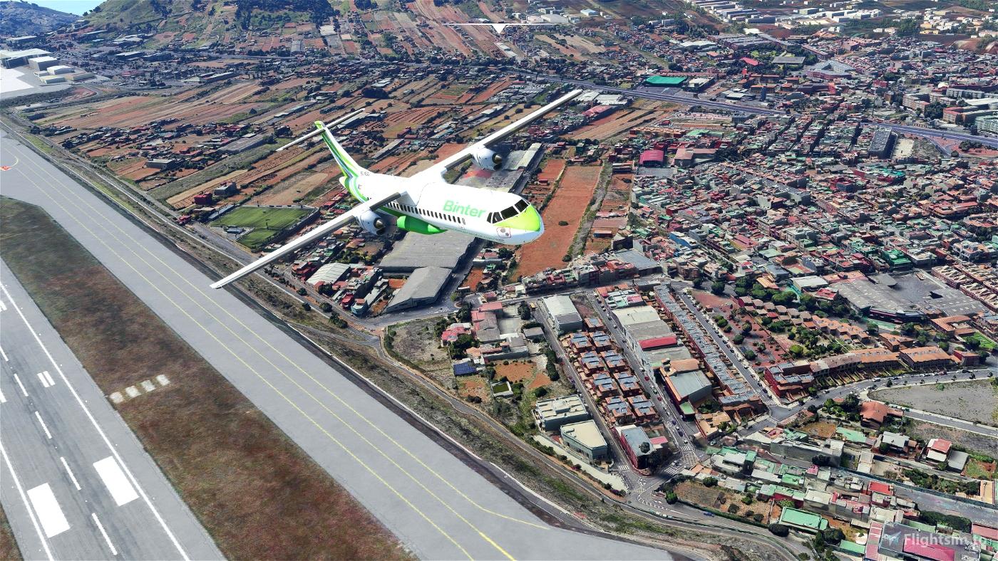 Santa Cruz de Tenerife (GCXO photogrammetry approach and La Laguna), Islas Canarias, Spain