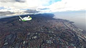 Santa Cruz de Tenerife (GCXO photogrammetry approach and La Laguna), Islas Canarias, Spain Microsoft Flight Simulator