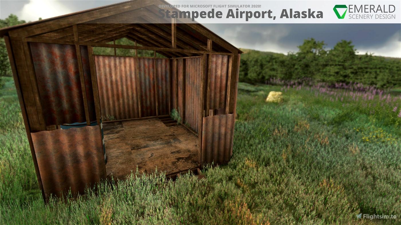 Stampede Airport, Alaska (Z90)
