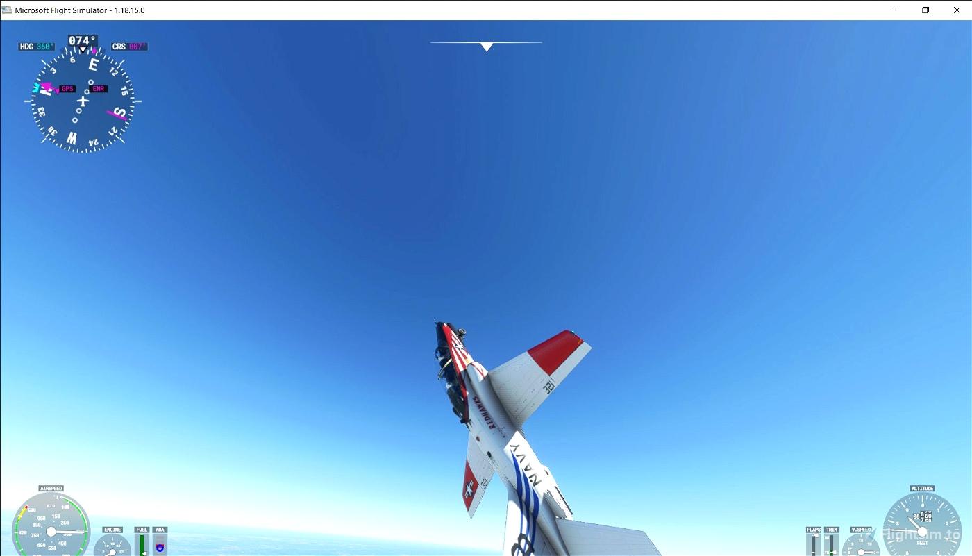 T45 Redhawk Microsoft Flight Simulator