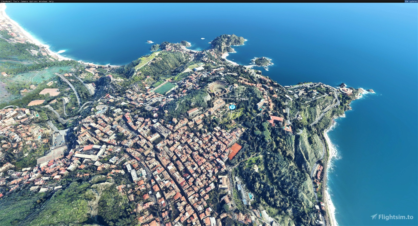 Taormina, Province of Messina, Italy Microsoft Flight Simulator