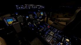 Updated Lights & Cameras for the C-17 Globemaster (Capt22 747 Cockpit Version) Microsoft Flight Simulator