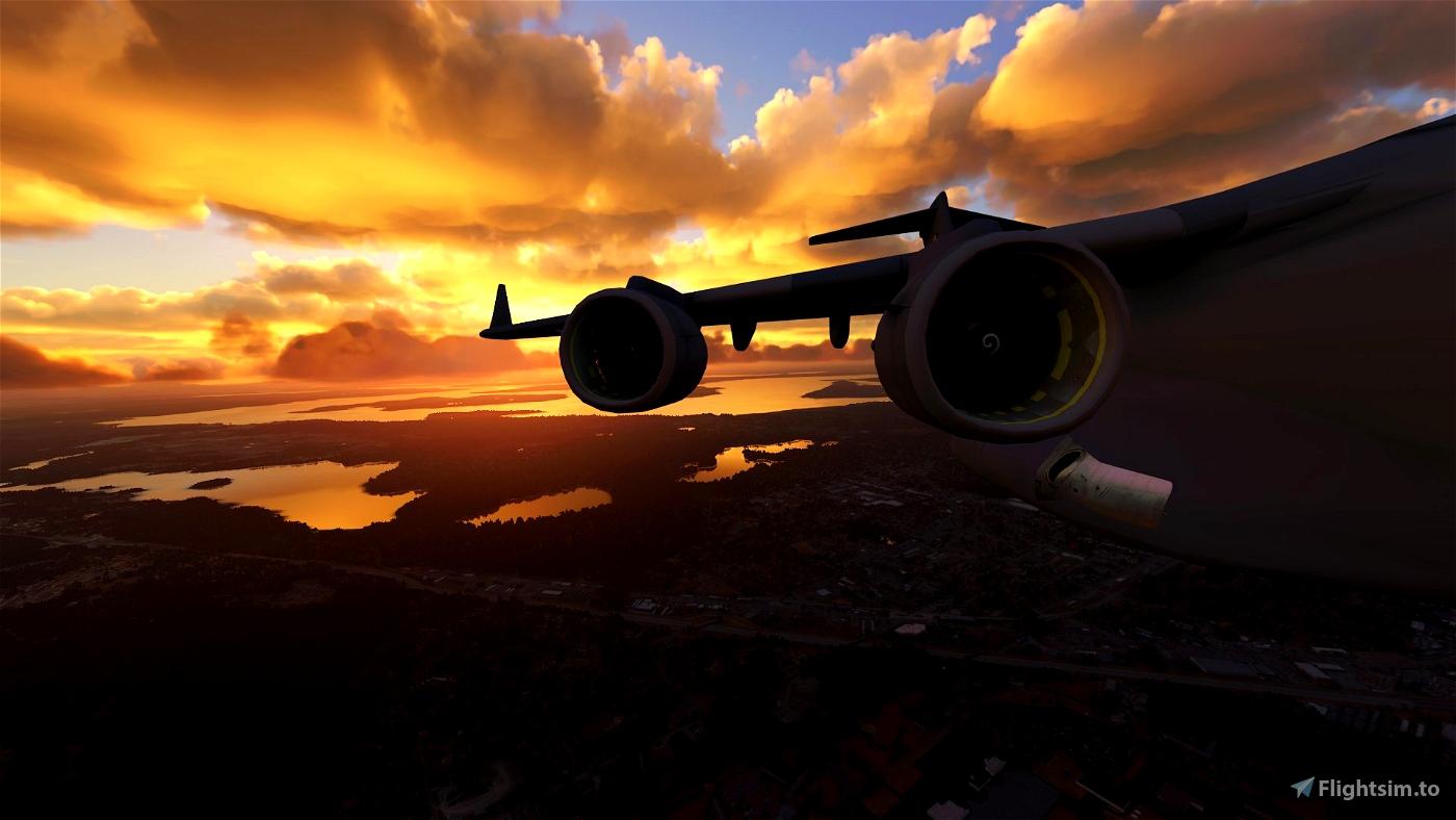 Updated Lights & Cameras for the C-17 Globemaster (Capt22 747 Cockpit Version)